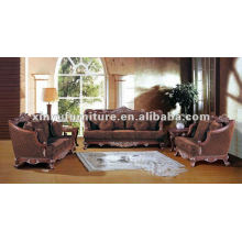 Sofá de madera francés europeo XB10002
