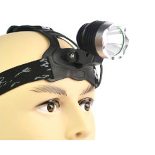 500lm CREE Q5 5W LED Rechargeable Head Lamp