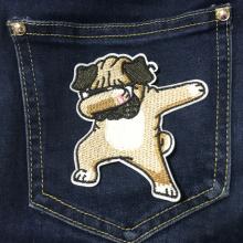 Hierro en insignias Parches de bordado de animales Costura de ropa