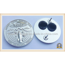 3D Silver Plating Customized Pin