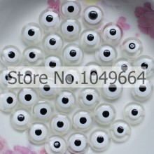 ODM for Pony Resin Bead 10MM Wholesale evil eye bead for chram bracelet DIY making export to Western Sahara Supplier