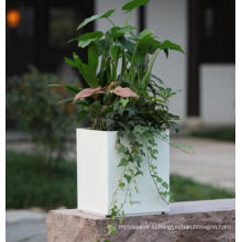 (BC-F1043) Fashionable Design Plastic Self-Watering Flower Pot
