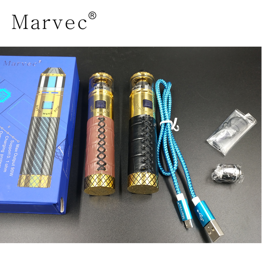 90W full power output 18650 starter kit vape