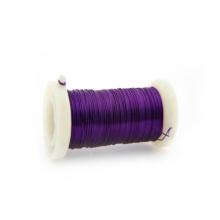 Púrpura Color 0.3mm Iron Florist alambre de la fábrica de China