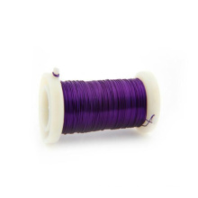 Purple Color 0.3mm Iron Florist Wire From China Factory