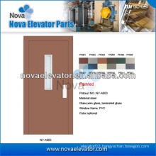 Narrow / Wide Villa Elevator Automatic Door, Glass Elevator Swing Door