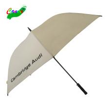 automatic opening double canopy EVA handle windproof golf umbrella