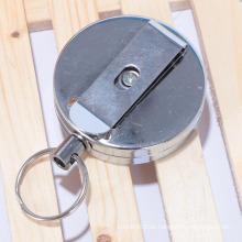 Fabrik freie Probe benutzerdefinierte zurückziehbare runde Metall-Jo-Jo-Halter