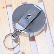 Завод бесплатный образец пользовательских выдвижной круглый металлический держатель yoyo