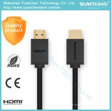 4k alta velocidade banhado a ouro HDMI cabo HDMI para cabo HDMI