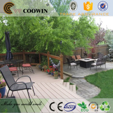 Водонепроницаемый декоративный сад wpc decking