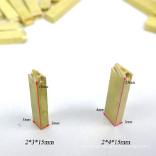 Characters fonts in brass for hot stamping type letters numbers for DY8 HP241 HP241B MY380 coding machine