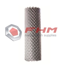 Galvanized Chain Link Fence with 12 Gauge Wire