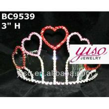 Coroas de tiara amadas