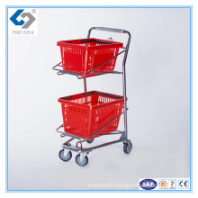 Small Size Basket Trolley Cart for Sale