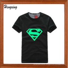 Fluorescent Luminous Superman T-Shirt