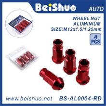 4PCS/Set Aluminium Open End Wheel Lug Nut