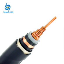 66kv Single Core XLPE con aislamiento de 185 mm² Cables de alimentación de cobre Precios