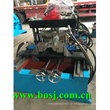 Galvanizado Bottom Plate Stereo Garage Roll formando equipamento fornecedor Singpore