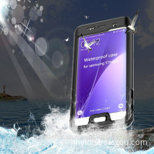 high quality IP68 shockproof waterproof cell phone case for iPhone Samsung