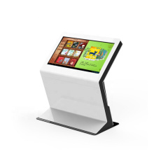 43 inch floor stand multi touch digital information kiosk touch screen for hospital/bank/shopping mall