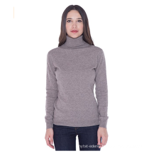 PK18A44HX 100%Cashmere Turtleneck Sweater Pullover For Women