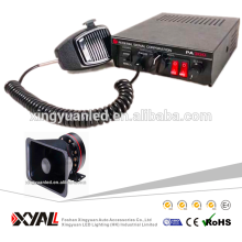 5 Sound Car Electronic Warnung Sirene Alarm Police Ambulance Lautsprecher