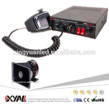 5 Sonido Coche Alarma de advertencia de sirena Alarma Policía Ambulancia Altavoz