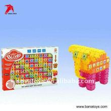 Brinquedos infantis de plástico blocos de construção