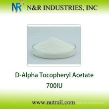 Garantía del comercio Acetato de vitamina E en polvo 700IU