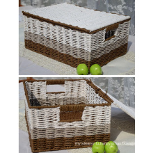 (BC-RB1009) Eco-Friendly Handmade Paper Rope Basket