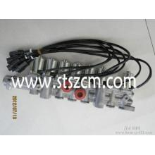 Válvula solenoide 207-60-71311 PC400-7 komatsu válvula eléctrica