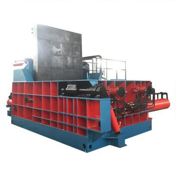 Machine de mise en balles de ferraille hydraulique pour le recyclage des métaux
