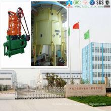 Projeto de extração contínua e automática de óleo de milho com ISO9001, CE em 2014