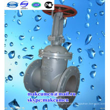 Turkmenistan Z41H-16C russian standard GOST Cuniform DN50 Stainless steel Oil pipeline Gate valve