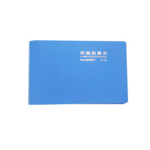 PP 265*15 mm paper bill chequge invoice clip file holder