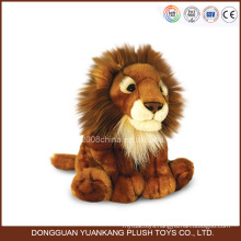 Mini Stuffed Lion Toy with Big Head