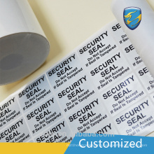 High Quality Factory security viod label with Tire