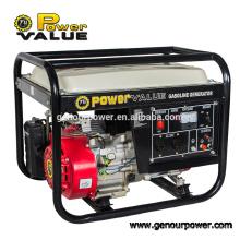 Valeur de puissance Un générateur d'essence silencieux à 6 cylindres à un seul cylindre