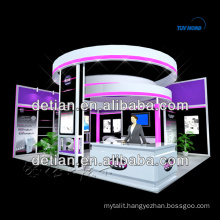 portable 20x20 trade show booth design, modular booth design system