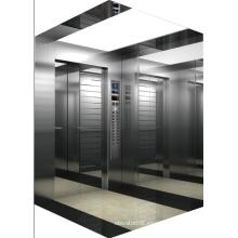 2000kg Elevador de pasajeros de gran capacidad
