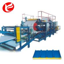 Eps panel sándwich prensa techo producción máquina