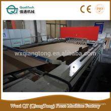 4 pies que impregnan la máquina de papel de la decoración / máquina de impregnación de la resina fenólica / panel formica que hace la línea