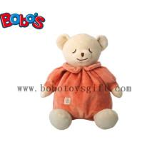 """10 """"Оранжевый фаршированный младенческой игрушки Детские дети Спящий медведь животных"""