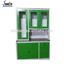 Горячей продажа кухонного шкафа лоян простой дизайн из нержавеющей стали кухонный шкаф