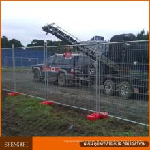 Panneaux de treillis de clôture temporaire en fer galvanisé à chaud