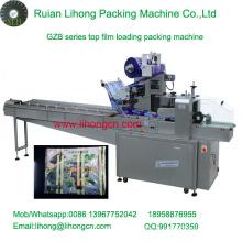 Gbb-350A Hochgeschwindigkeits-Kissen-Typ Automatische Bäckerei Brot Flow Wrapping Machine