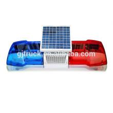24w rojo / azul / ámbar / claro mini barra de luces LED brillante estupenda usada para el camión