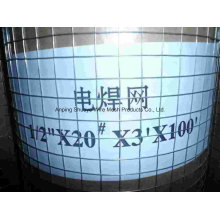 Treillis métallique soudé pour cage / filtre