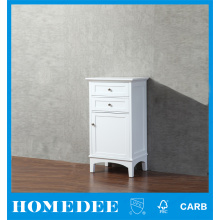 NO.1 alibaba White side cabinet vanity